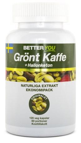 Better You, grönt kaffe + hallonketon
